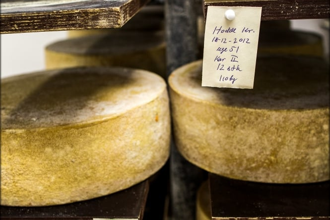 Naturmælk: Lagret Høost